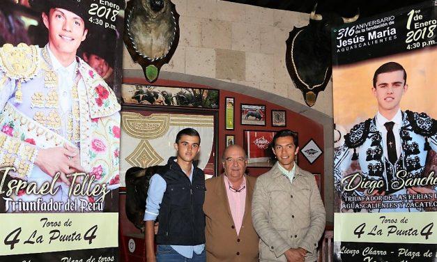 Israel Téllez y Diego Sánchez mano a mano en Jesús María