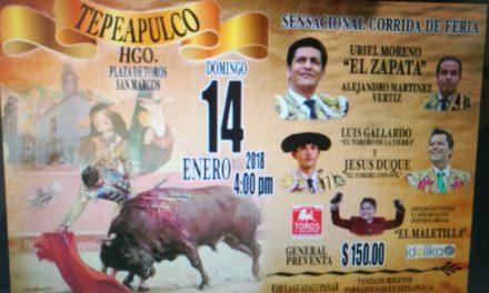 Anuncian cartel internacional en Tepeapulco