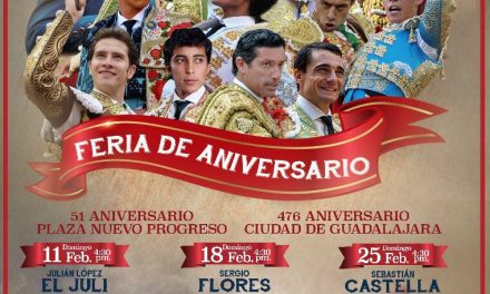 Cerrados los carteles del 476 aniversario de Guadalajara