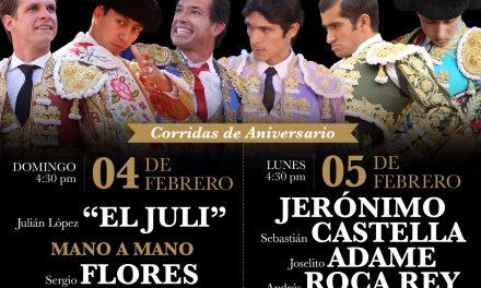Jerónimo en el cartel del 5 de febrero