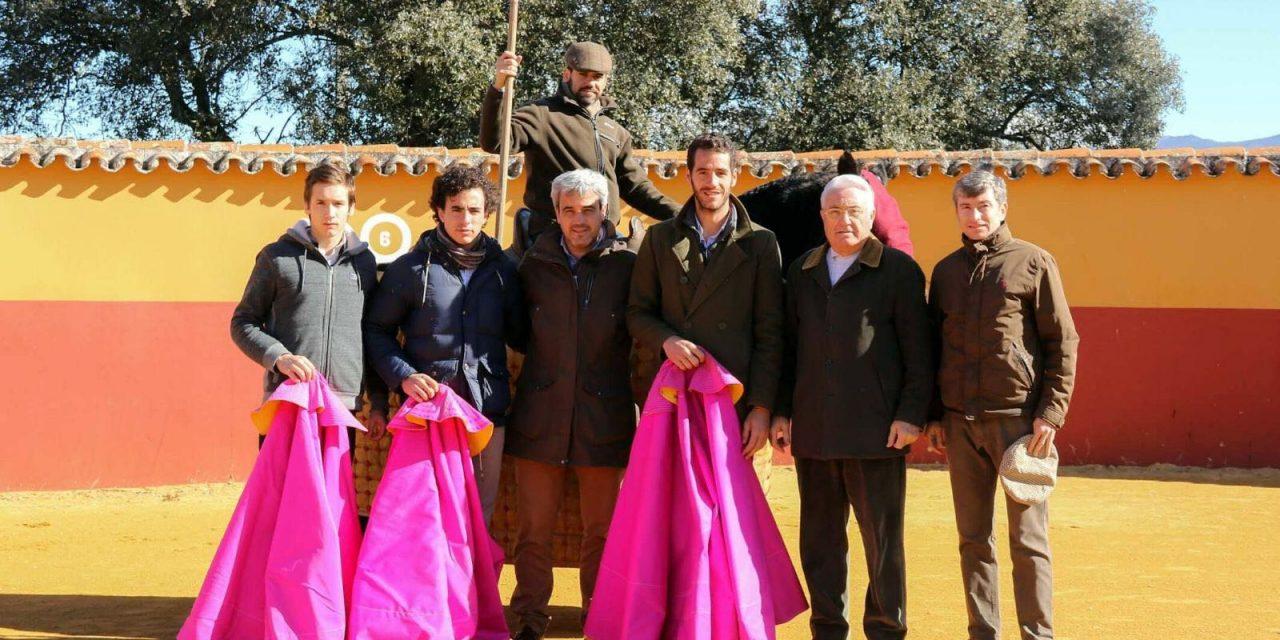 Arturo Gilio en el campo bravo andaluz