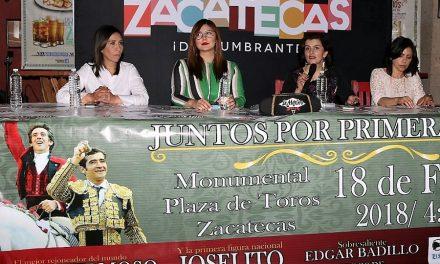 La empresa «Zacatecas, Tierra de Toros» cumple con la afición