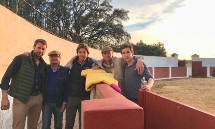 Arturo Gilio continúa en el campo bravo español