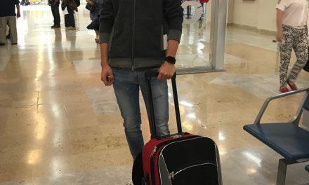 Arturo Gilio viajó a España