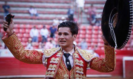Meritoria oreja para Ricardo de Santiago