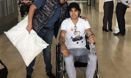 Alta médica la novillero Diego San Román