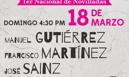 Anuncian cartel para el próximo domingo en La México