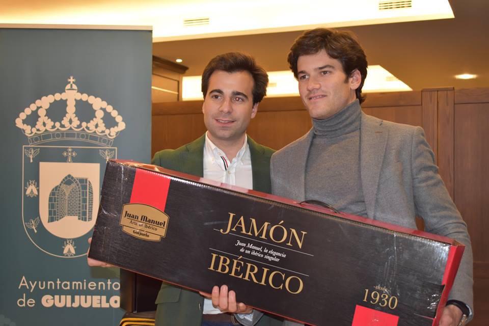 José Garrido, triunfador de la feria de Guijuelo