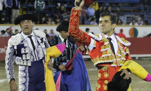 Oreja para Jerónimo y Joselito en Puebla