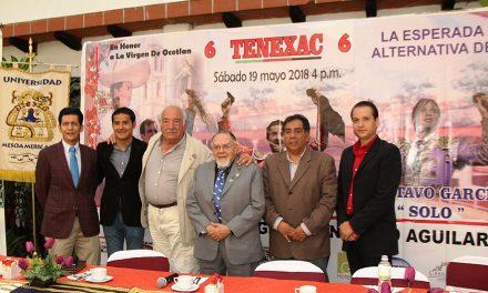 «El Solo» tomará la alternativa en Tlaxcala