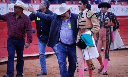 Héctor Gutiérrez indultó a «Izquierda de Oro»