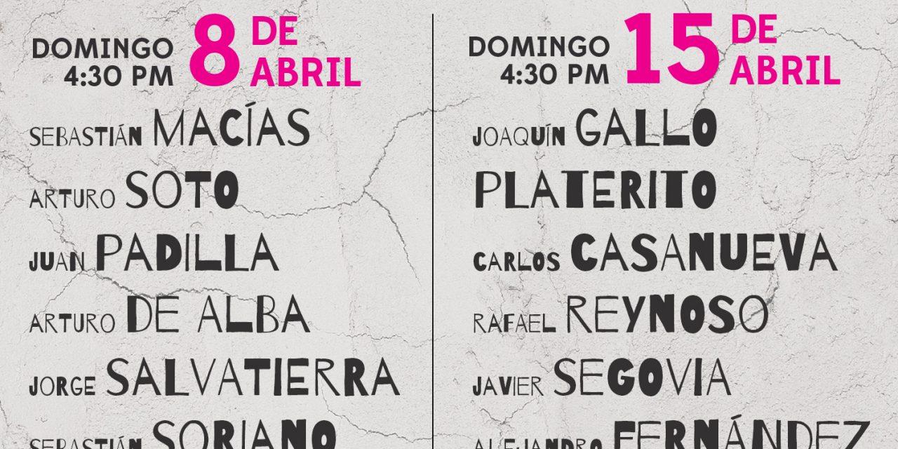 Definen los carteles del 8 y 15 de abril en la Plaza México