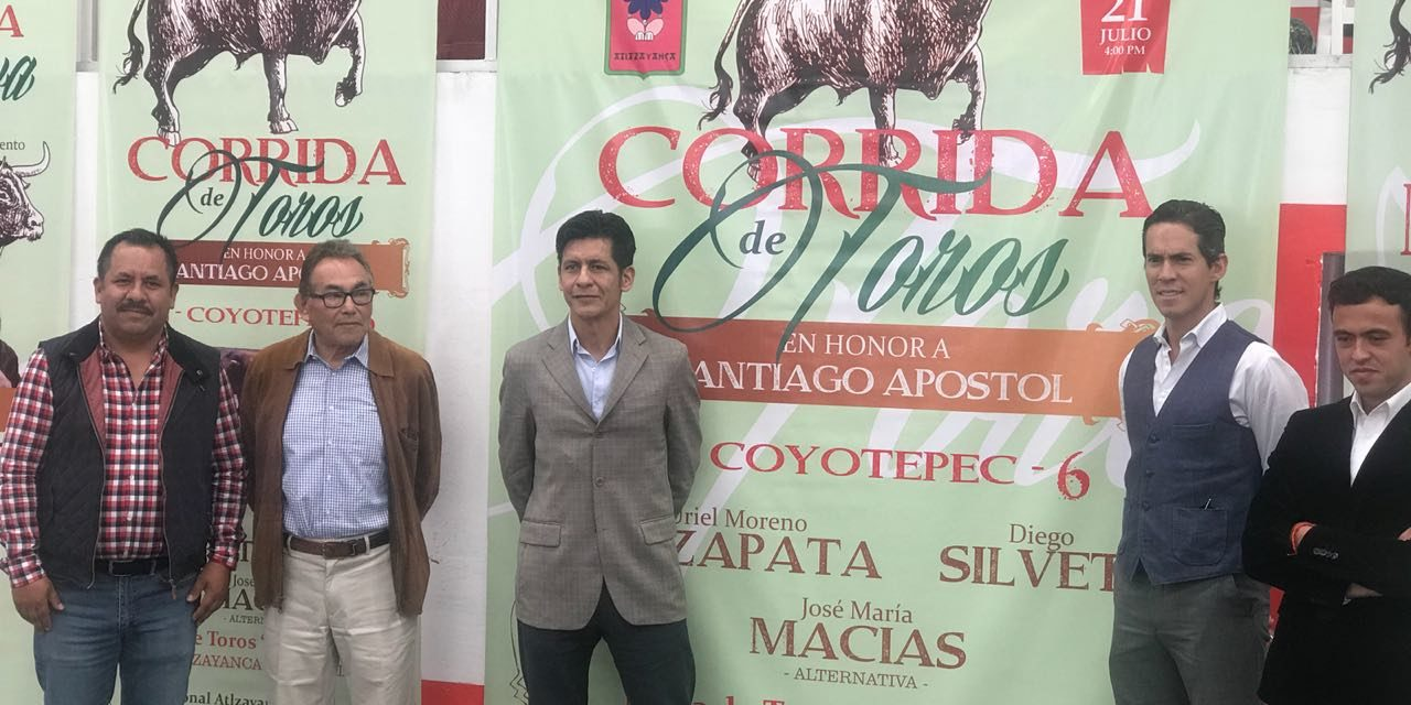Diego Silveti anunciado en Altzayanca