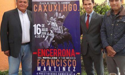 Presentan encerrona de Francisco Martínez