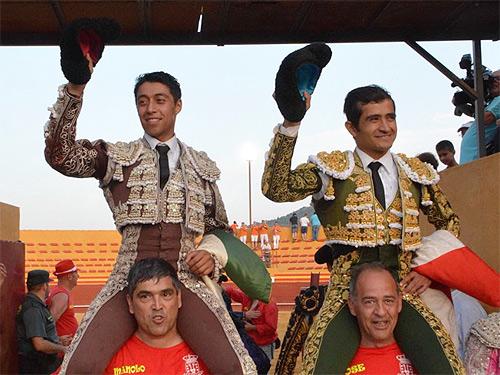 Triunfo de Joselito Adame y Sergio Flores