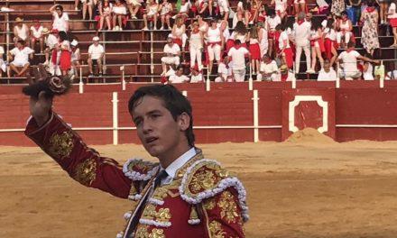 Arturo Gilio cortó merecida oreja en San Adrián