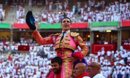 Octavio Chacón triunfa en Pamplona