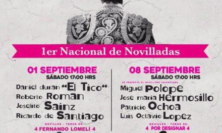 Anuncian tres novilladas en Ciudad Lerdo