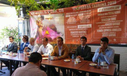 Anuncian interesantes carteles en San Miguel de Allende