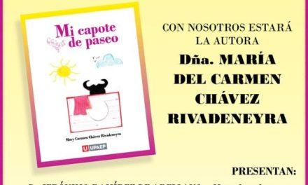"""Se presenta el libro """"Mi Capote de Paseo"""""""