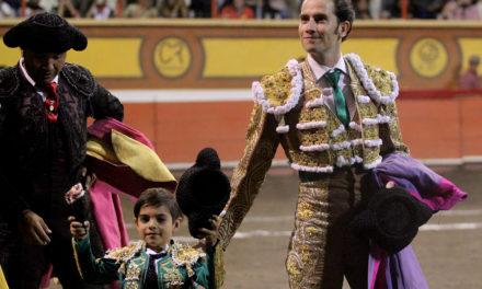 Arturo Saldívar cortó la única oreja en Huamantla