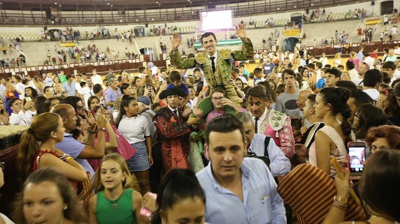Miguel Aguilar triunfa en Málaga