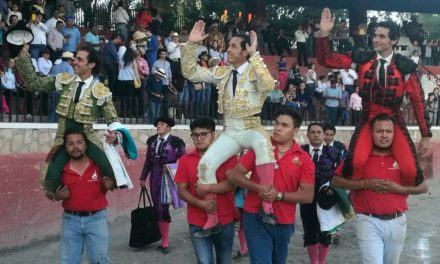 «El Conde», Adame y José Mauricio triunfan en San Luis de la Paz