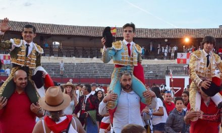 Gran tarde de Joselito en El Burgo de Osma