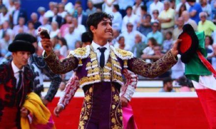 Luis David Adame cortó una merecida oreja en Bilbao