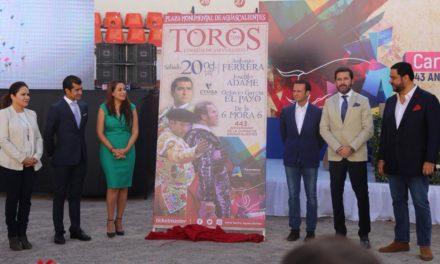 Presentan cartel del 443 aniversario de la Ciudad de Aguas