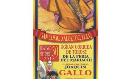 Habrá corrida de feria en San Cosme Xaloztoc