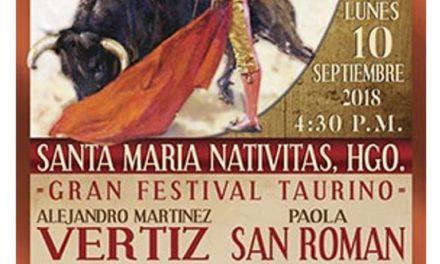 Anuncian festival de feria en Santa María Nativitas