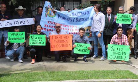 Presentan carta en apoyo a la Fiesta de Coahuila