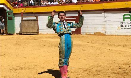 Isaac Fonseca sale a hombros en Algemesí
