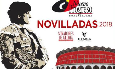 Arranca el serial novilleril en Guadalajara