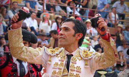 Isaac Chacón triunfo y cornada en Morelia