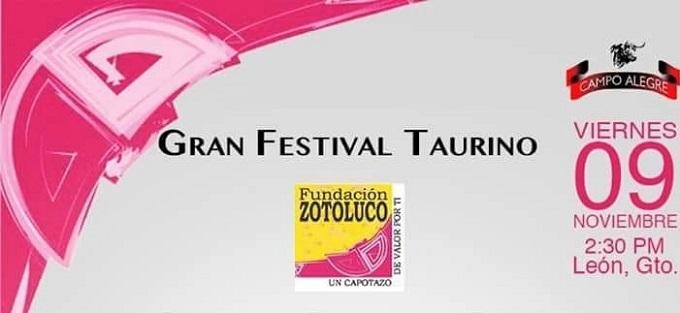 Anuncian festival benéfico en León