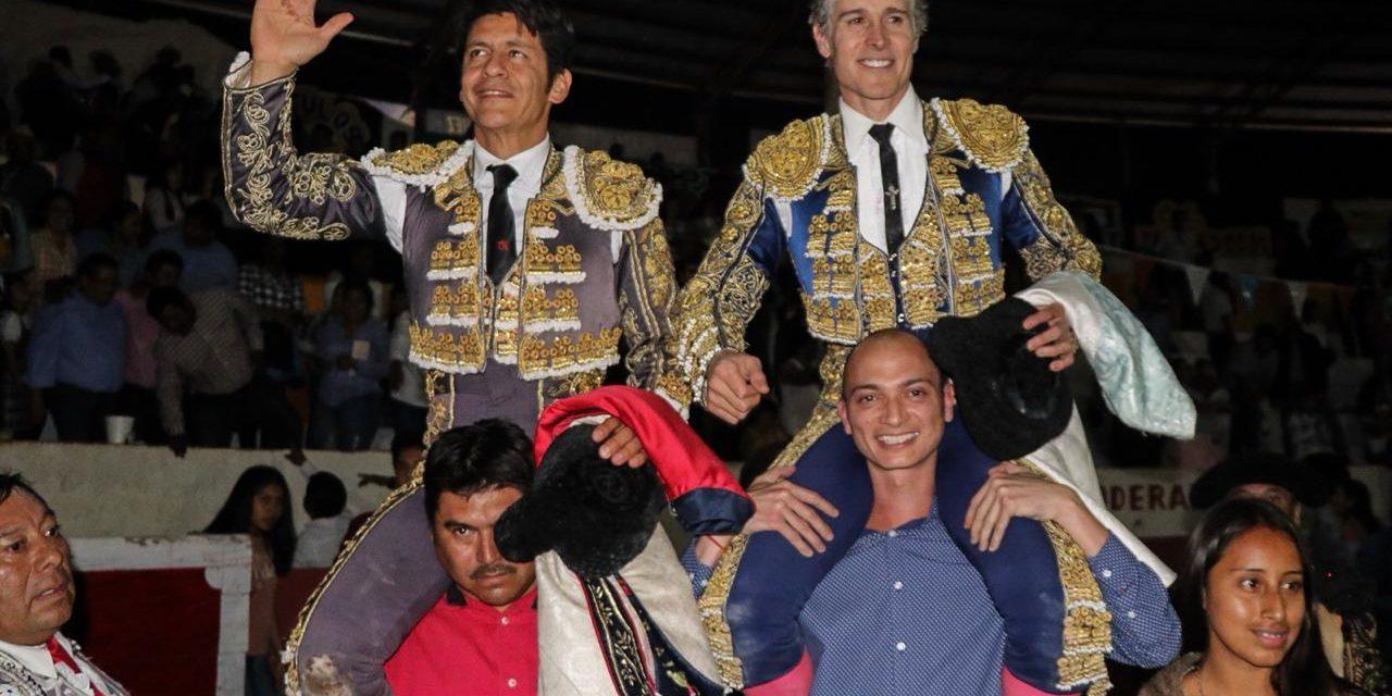 """Pizarro y """"El Zapata"""" triunfan en Tlahuelilpan"""