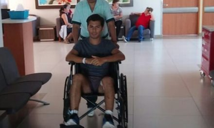 Francisco Martínez recibe el alta médica