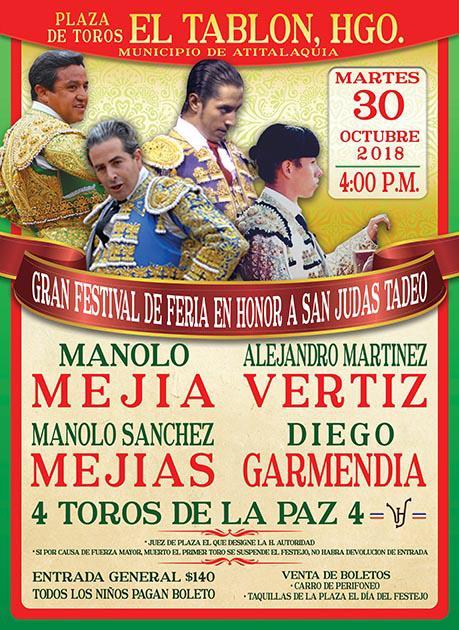 Anuncian festival de feria en El Tablón