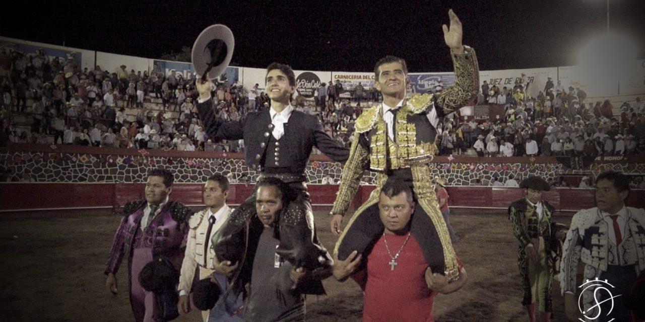 Joselito Adame y Alejandro Zendejas salen en hombros