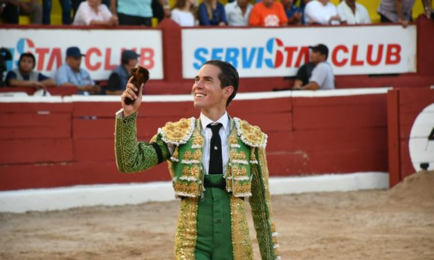 Diego Silveti cortó la única oreja en Mérida