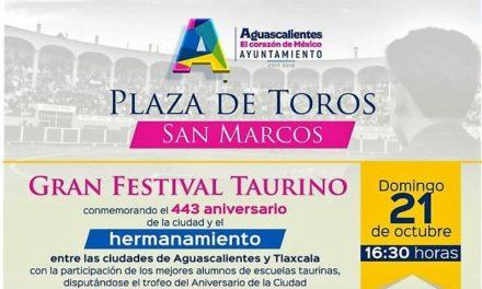 Aguascalientes y Tlaxcala ciudades hermanadas