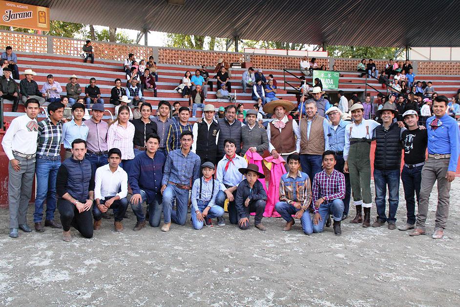 Primera tienta pública en la feria de Tlaxcala