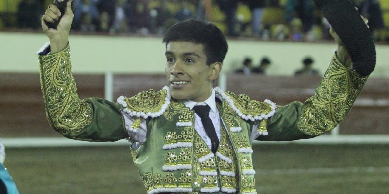 José Alberto Ortega cortó una oreja en Tlaxcala