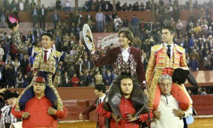 Ventura, Rivera y Flores a hombros en San Luis Potosí