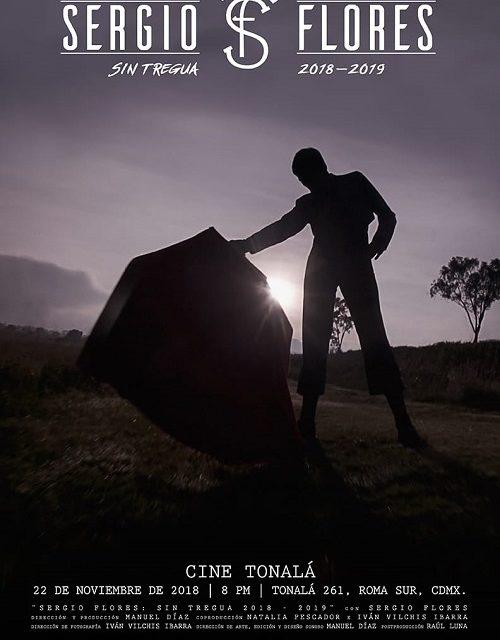 Presentarán documental de Sergio Flores