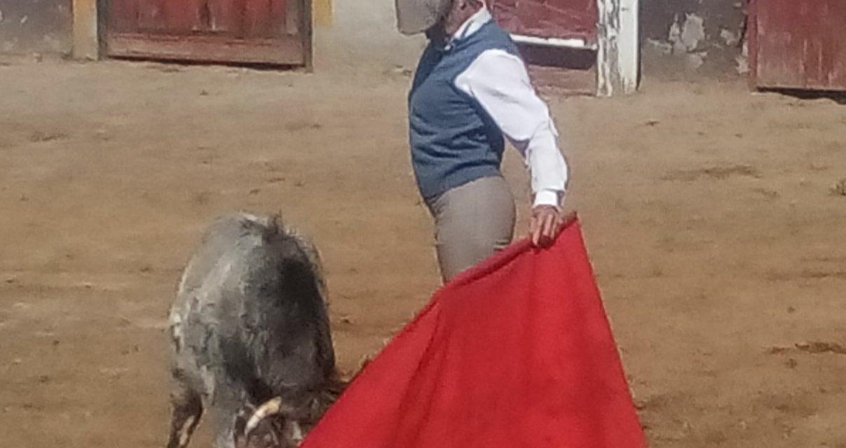 Federico Pizarro en plena preparación