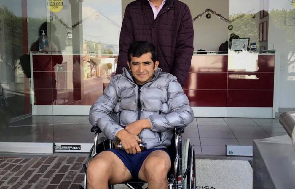 Joselito recibe el alta médica