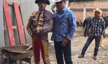 Román Martínez estrenará su alternativa en Lajas, Perú